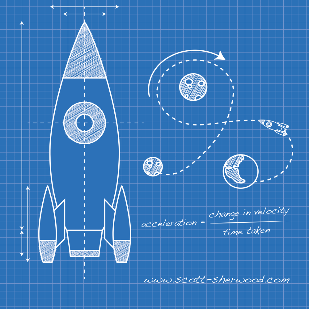 Illustrator how to create a blueprint style illustration for Where to print blueprints