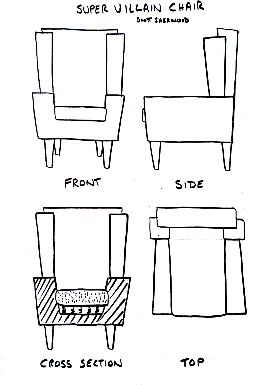 orthographic-chair